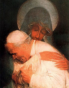 Pope John Paul II and Mary